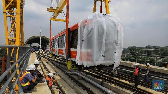 Proyek LRT dapat dana segar Rp 4,2 triliun.