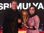 Saat Sri Mulyani Raih The Best Minister CNBC Indonesia Award