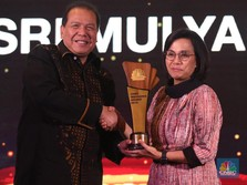 Saat Sri Mulyani Raih The Best Minister CNBC Indonesia Award