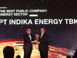 Indika Energy Dinobatkan The Best Public Company Energy