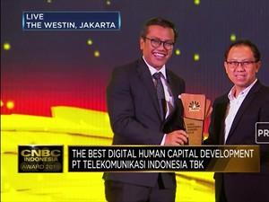Telkom Indonesia, The Best Digital Human Capital Development