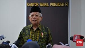 Ma'ruf Amin Ingatkan Tanah Wakaf Tak Melulu untuk Masjid