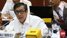 Dicecar Komisi III, Yasonna Bersumpah Tak Kenal Harun Masiku