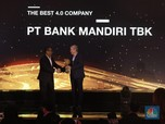 Jadi The Best 4.0 Company, Bank Mandiri Makin Pacu Kinerja