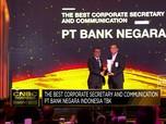 BNI, Pemenang The Best Corporate Secretary & Communication