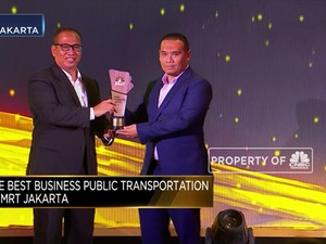 MRT Jakarta, Best Business Performance Public Transportation