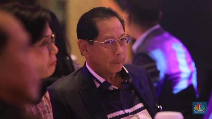 Jahja Setiaatmadja - Presiden Direktur BCA (CNBC Indonesia/Andrean Kristianto)