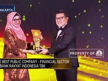 BRI, Pemenang The Best Public Company: Financial Sector