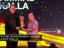 Jusuf Kalla, Lifetime Achievement CNBC Indonesia Award 2019