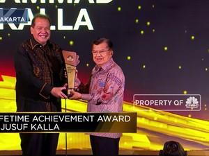 Jusuf Kalla, Lifetime Achievement CNBC Indonesia Award 2019