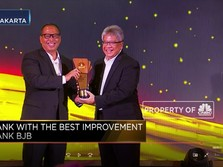 Bank BJB, Pemenang Bank With The Most Improvement