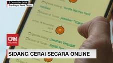 VIDEO: Lebih Praktis, Sidang Cerai Kini Bisa Secara Online