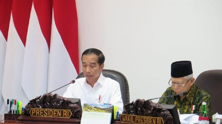 Jokowi Panggil Bos BI Perry Warjiyo dan Menkeu Sri Mulyani