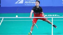 Ginting Kalah Dramatis Atas Tien Chen di BWF Tour Finals