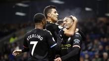 Hajar Arsenal, Man City Tetap Butuh Keajaiban Kejar Liverpool