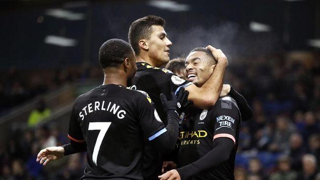 Hasil Liga Inggris: Man City Kalahkan Burnley 4-1