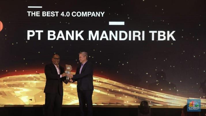 Penuh Inovasi, Bank Mandiri Raih The Best 4.0 Company