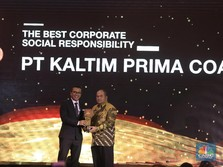 Kaltim Prima Coal Raih The Best CSR