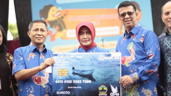 Genjot Inklusi Keuangan, BRI Luncurkan Kartu Nelayan Jateng