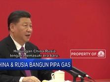 Berantem Dengan AS, China Kini Mesra ke Rusia