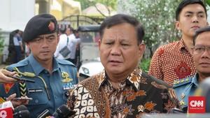 Prabowo Temui Menhan Australia, Bahas Kerja Sama Militer