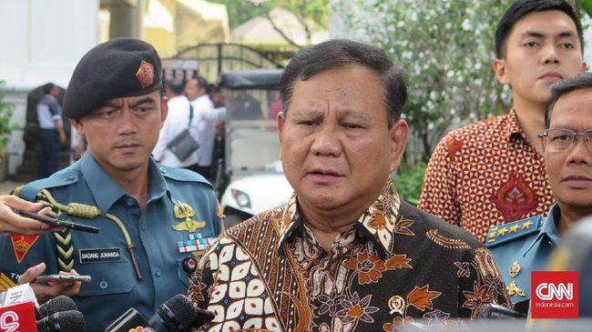 Prabowo Pilih Jalan Damai Hadapi China di Natuna