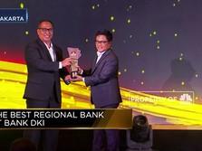 Bank DKI, Pemenang The Best Regional Bank