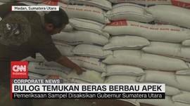 VIDEO: Bulog Temukan Beras Berbau Apek di Medan