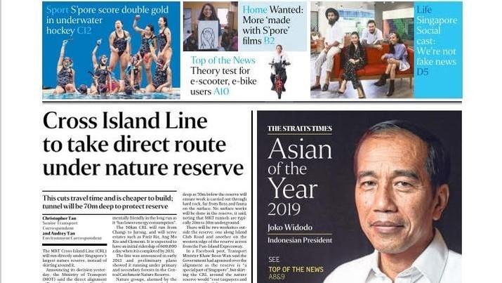 Ini Alasannya Jokowi Dapat Penghargaan Asian of The Year 2019
