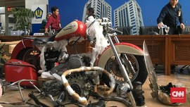 Bos Importir Joe Surya Diduga Dalam Pesawat Pengangkut Harley