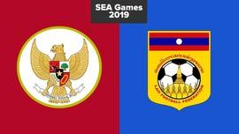 LIVE REPORT: Indonesia vs Laos di SEA Games 2019