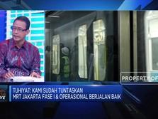 Kinerja Positif MRT Jakarta di Tahun Pertama Beroperasi