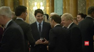 VIDEO: Drama Trump, Boris, dan Trudeau di NATO