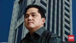 Erick Thohir Ogah Respons Debat Banjir: Itu Bukan Domain Saya