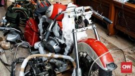 Bea Cukai Akan Pidanakan Penyelundup Harley di Garuda