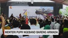 VIDEO: Menteri PUPR Ngeband Bareng Armada