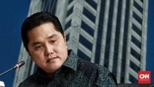 Erick Thohir Evaluasi Plt Dirut Garuda Sebelum RUPSLB