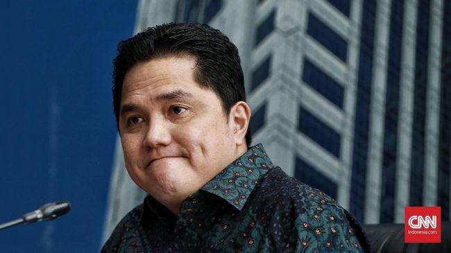Erick Thohir Ungkap Alasan Taruh Anak Gus Dur di Garuda