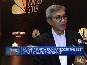 Hutama Karya Raih Penghargaan di CNBC Indonesia Award