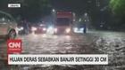 VIDEO: Hujan Deras, Jalanan Jakarta Banjir, Tanggul Jebol