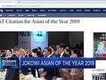 Jokowi Dinobatkan Asian of the Year 2019