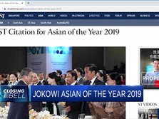 Jokowi Dinobatkan Asian of the Year 2019