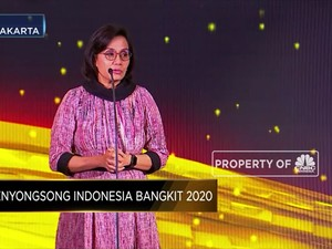 Sri Mulyani, The Best Minister CNBC Indonesia Award 2019