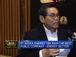 CNBC Indonesia Award, Momentum Indika Energi Untuk Lebih Maju