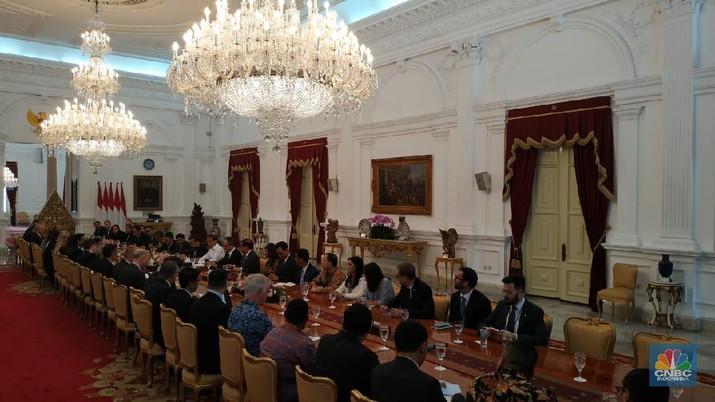 Demikian tergambar dalam pertemuan delegasi Dewan Bisnis Amerika Serikat-ASEAN (US-ASEAN Business Council) di Istana Merdeka.