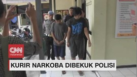 VIDEO: Kurir Narkoba Dibekuk Polisi