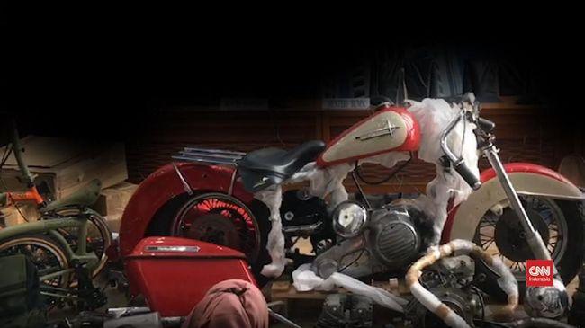 Bea Cukai Mulai Sidik Penyelundupan Harley Eks Bos Garuda