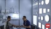 Pameran yang diikuti lebih dari 350 perusahaan pemasok barang elektronik dari berbagai negara ini berlangsung hingga 7 Desember 2019. (CNN Indonesia/Bisma Septalisma).