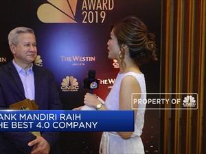 Bank Mandiri: CNBC Indonesia Award Jadi Rapor Baik