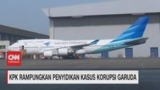 VIDEO: KPK Rampungkan Penyidikan Kasus Korupsi Garuda